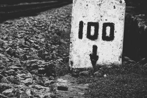 milestone 100 rail