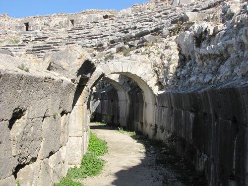 miletus amphitheatre turkey