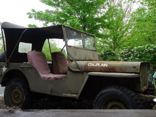 military jeep historical