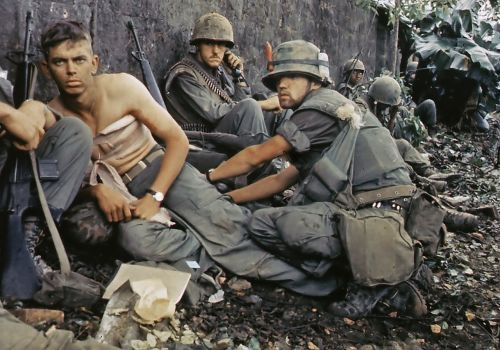 military vietnam war us soldier wounded