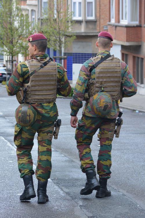 military patrol uniform