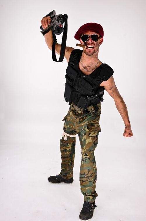 military costume war