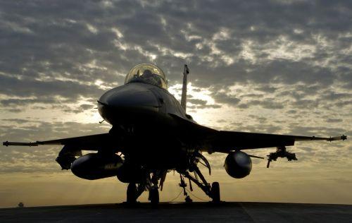 military jet airplane