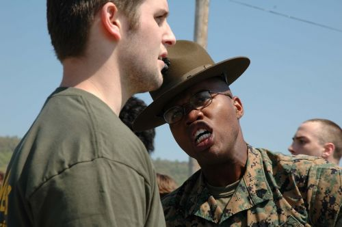 military drill instructor instructions