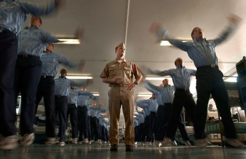 military drill instructor boot camp
