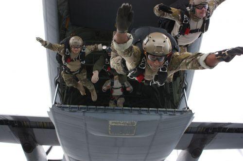 military training free fall