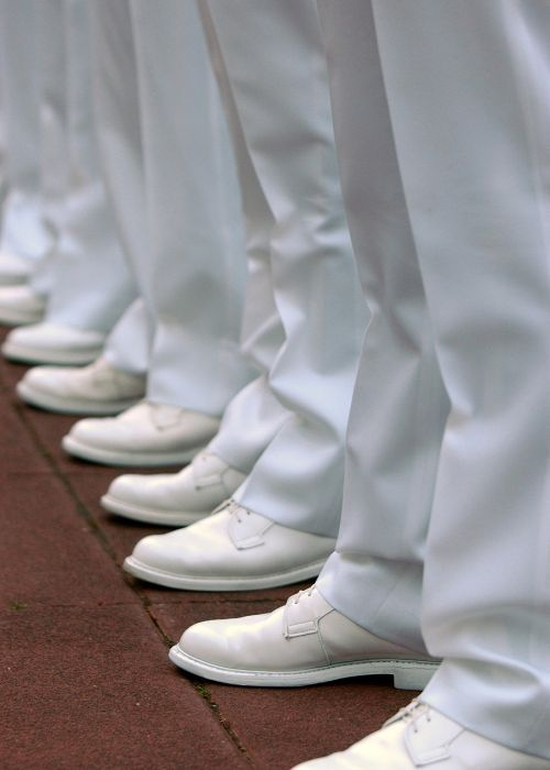 military inspection navy