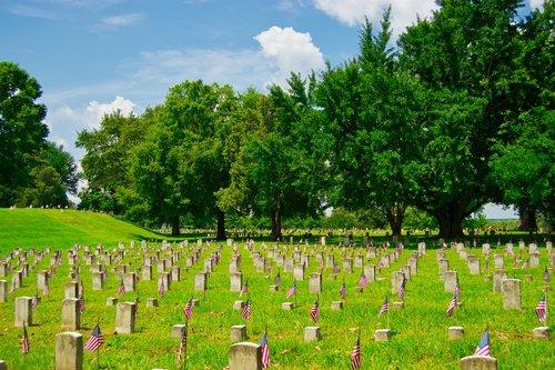 military cemetery  vicksburg  mississippi