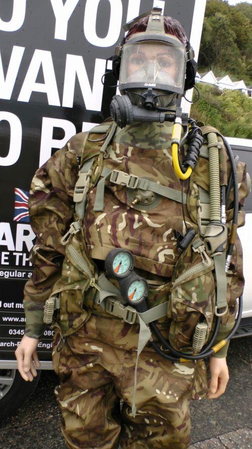 Military Divers Diving Kit