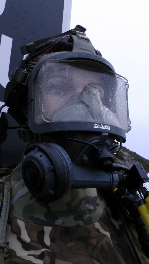 Military Divers Face Mask