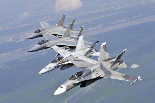 military jets jet formation