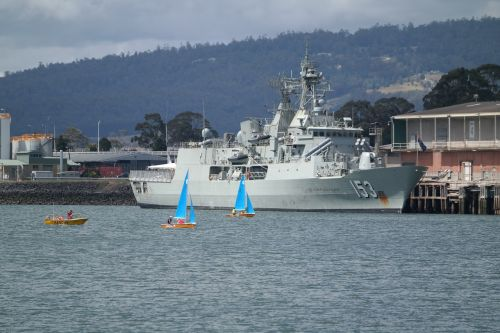 military ship hmas stuart australian navy