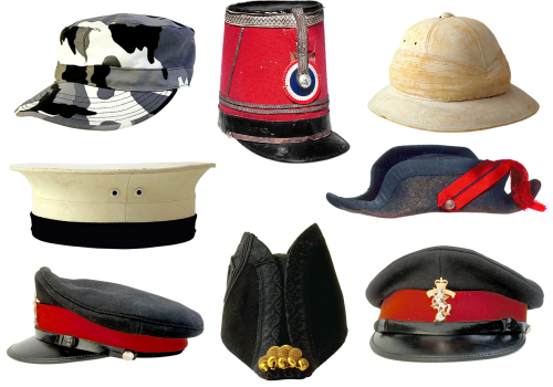 military uniforms peaked cap kepi