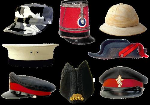 military uniforms peaked cap kepi