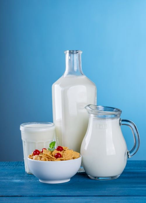 milk dairy products pitcher