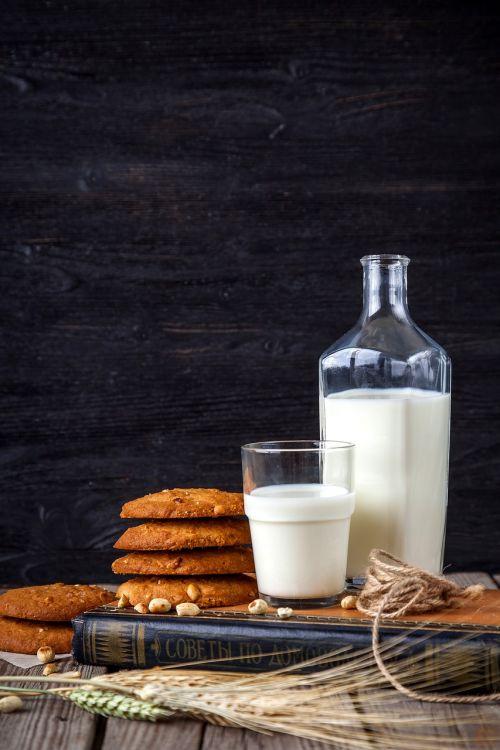 milk cookies oatmeal