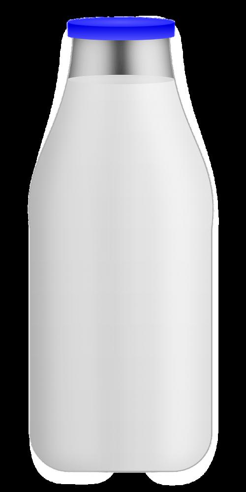 milk bottle glass dairy