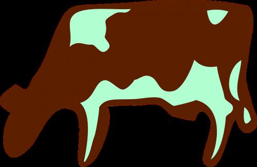 milker cow milk