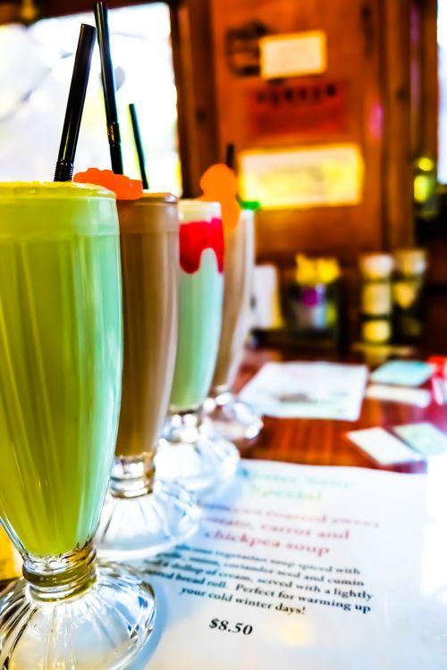 milkshake café smoothie