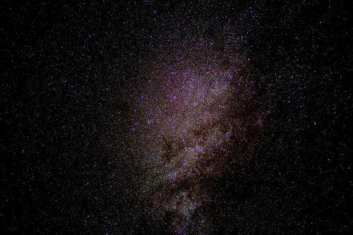 milky way starry sky star