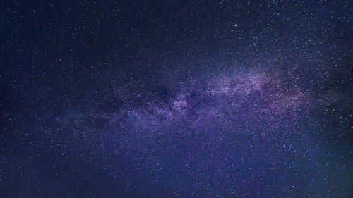 milky way  star  starry sky