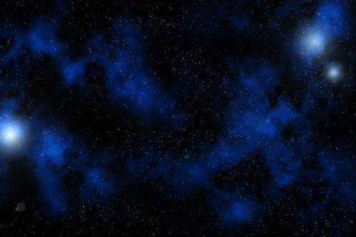 milky way stars starfield