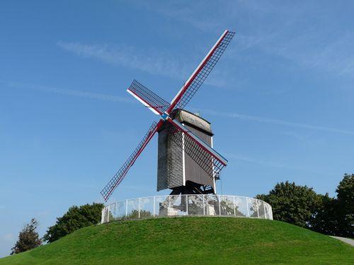 windmill mill bruges