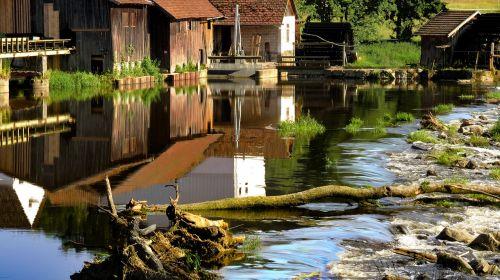 mill weir water