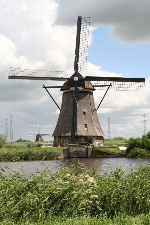 mill kinderdijk netherlands