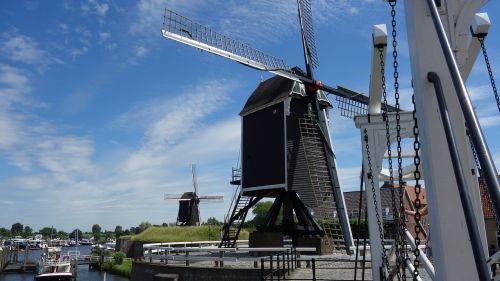 mill netherlands historic mill