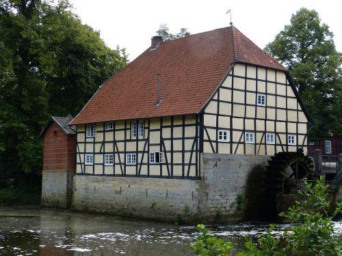 mill water mill waterwheel
