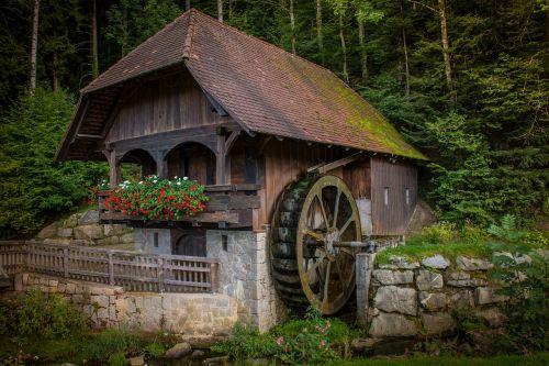 mill waterwheel old