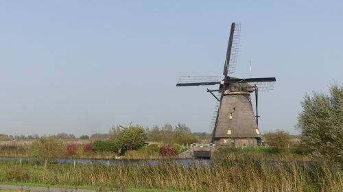 mill holland kinderdijk