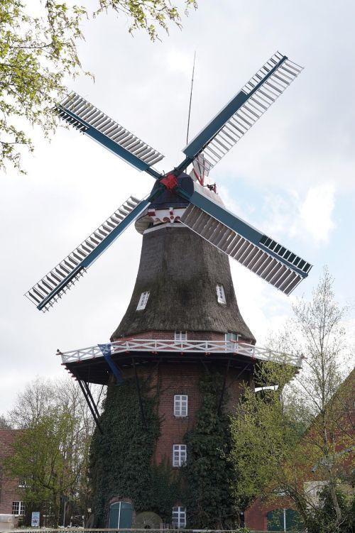 mill east frisia windmill