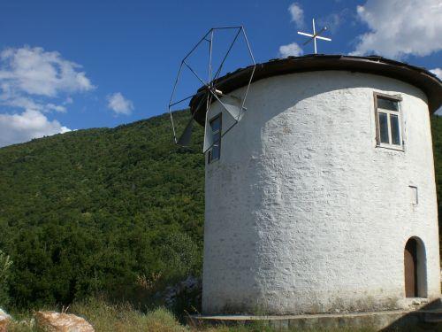 mill windmills greece