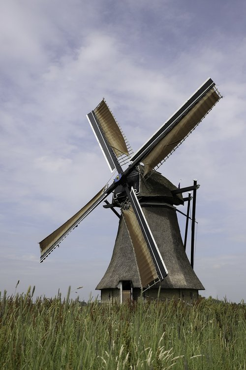mill  water mill  netherlands