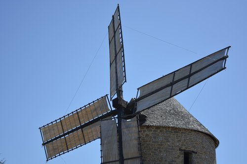 mill  wings of the moulin  mill mont dol