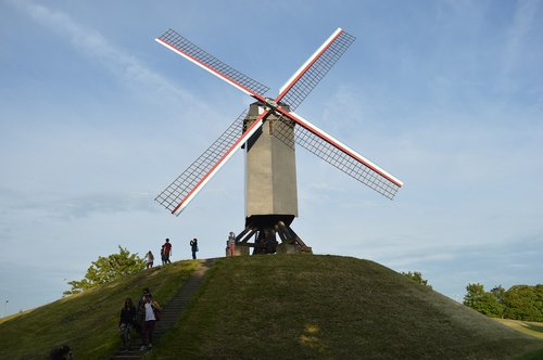 mill  belgium  bruges