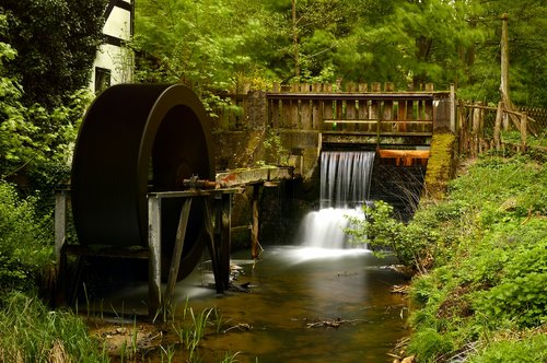 mill  mill wheel  water mill