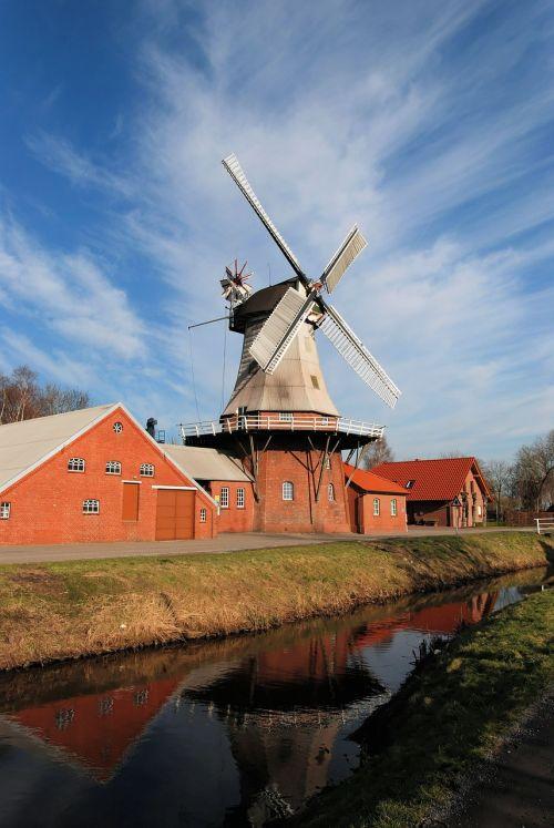 mill east frisia dutch