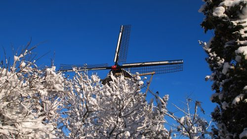 mill wind mill netherlands