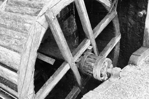 mill mill wheel old