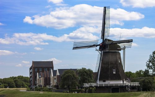 mill netherlands landscape