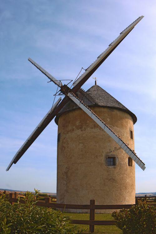 mill flour wind mill