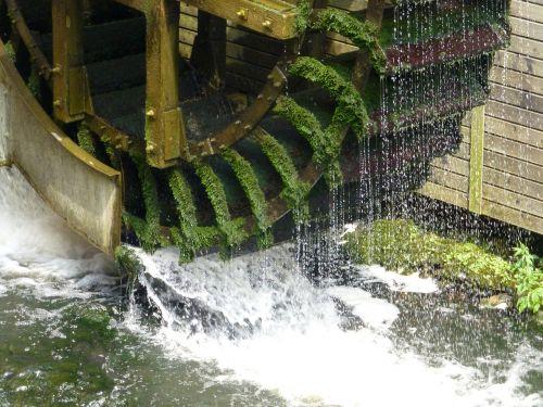 mill mill wheel water