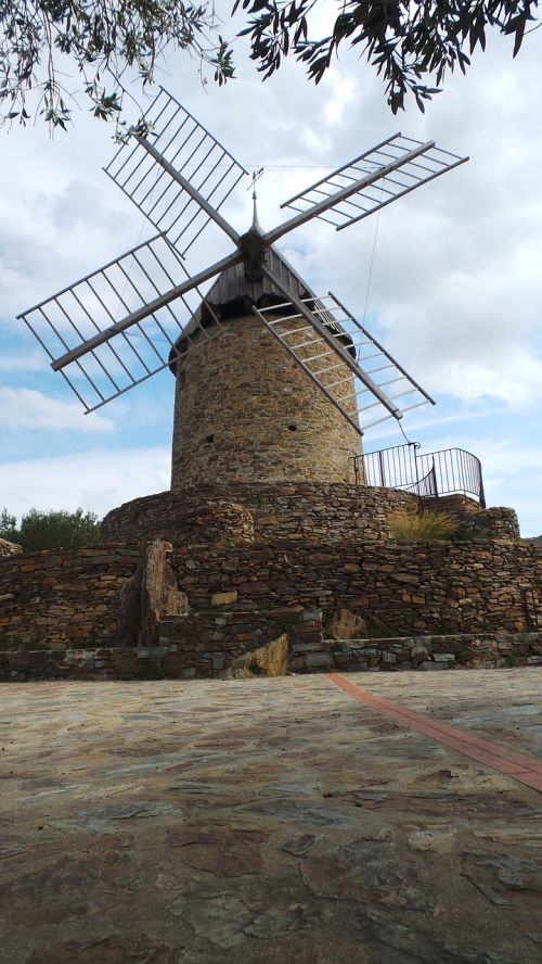 mill collioure wind