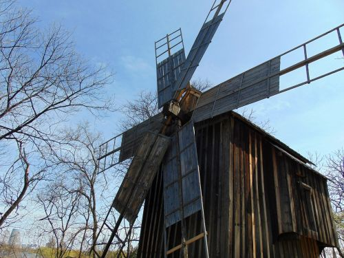 mill rustic windmill