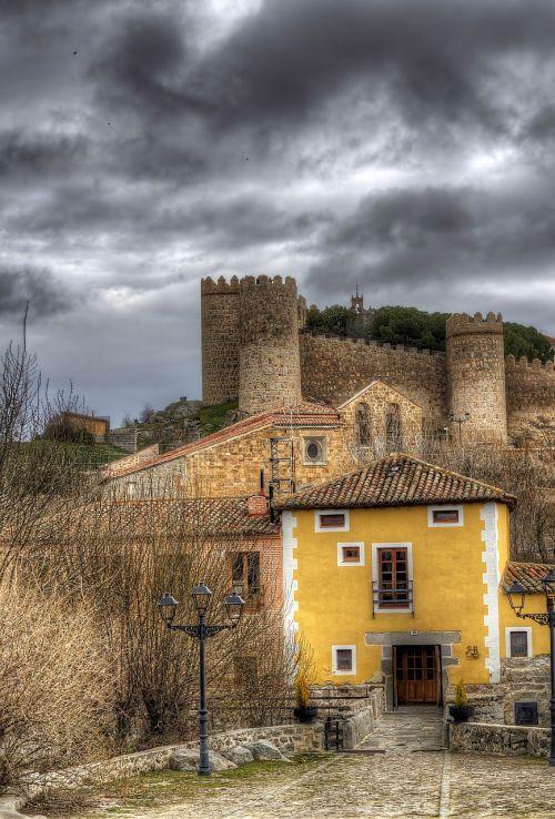 mill of the stone slab avila wall