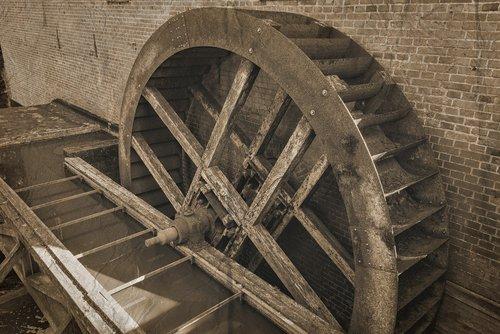 mill wheel  mill  wassermüle