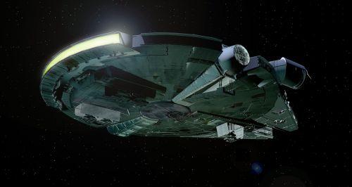 millenium falcon falcon star wars